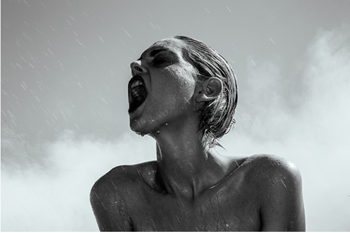Pouring Rain by Tyler Shields