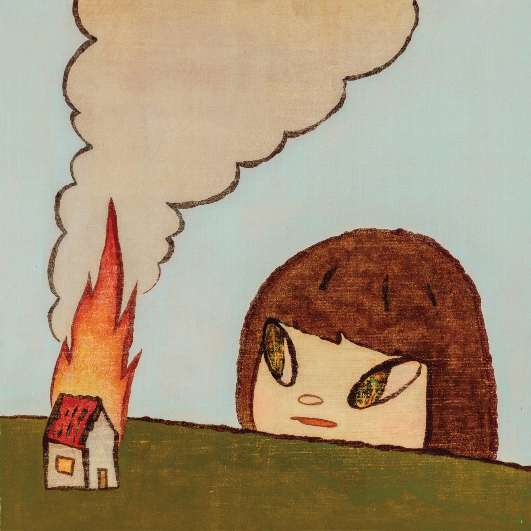 FIRE by Yoshitomo Nara