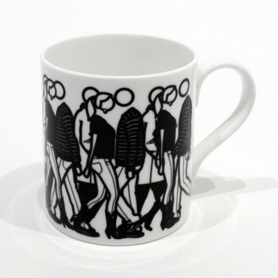 Julian Opie City Walks Mug