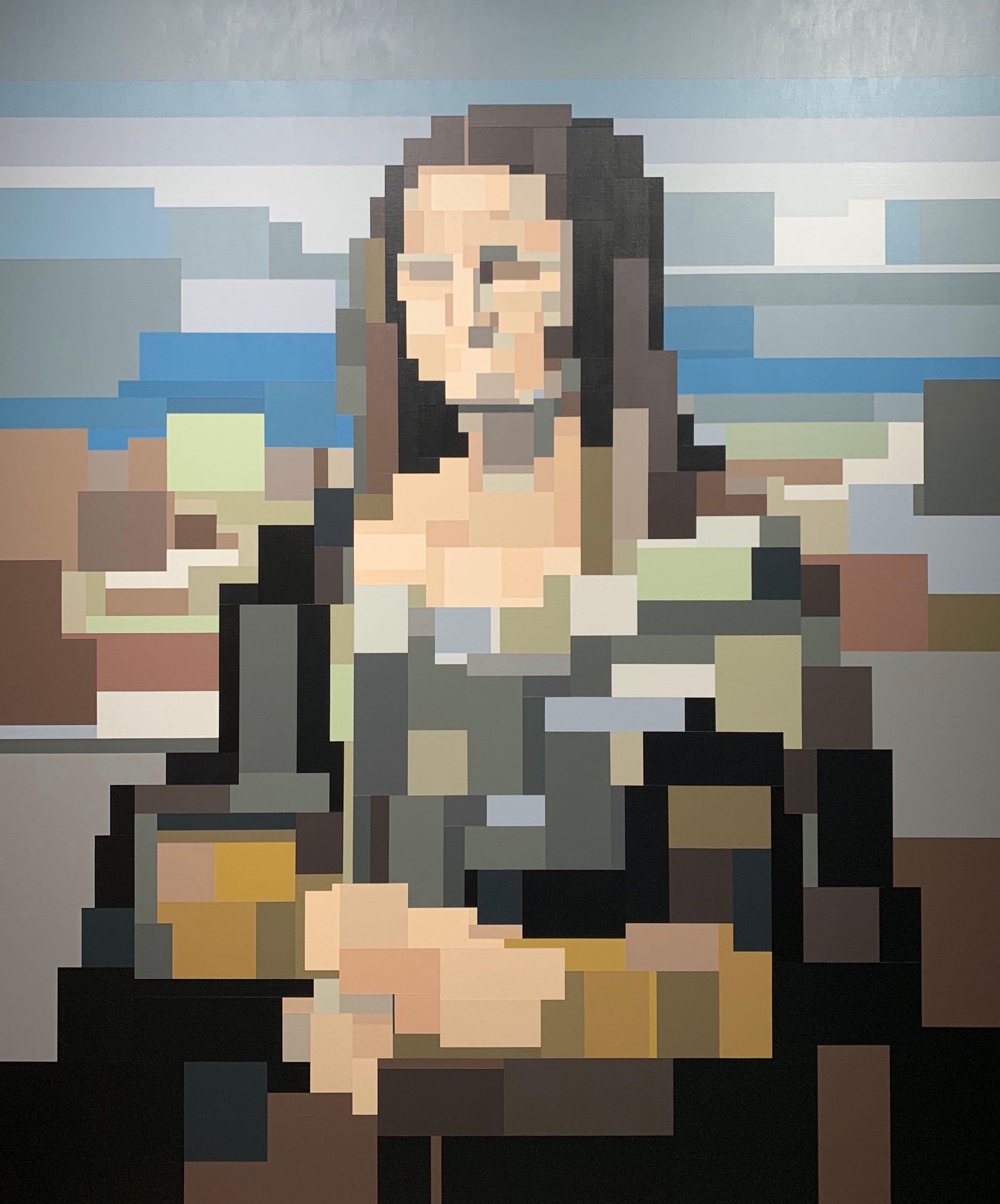 Mona Lisa by Adam Lister