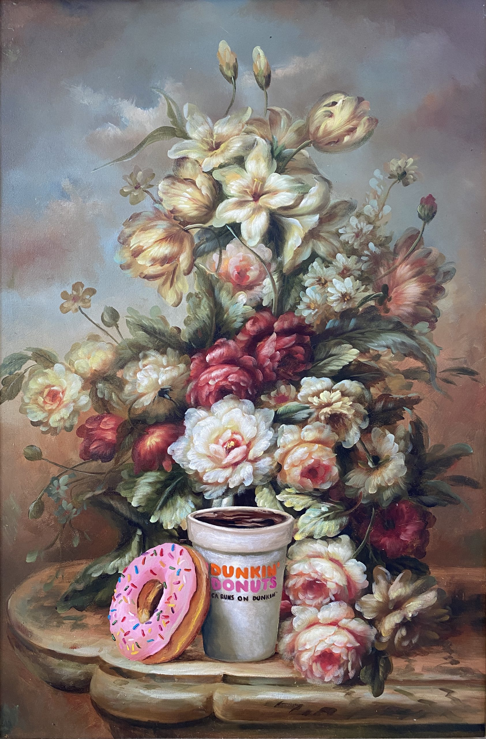 Calorie Composition 4 (Dunkin Donuts) by Dave Pollot