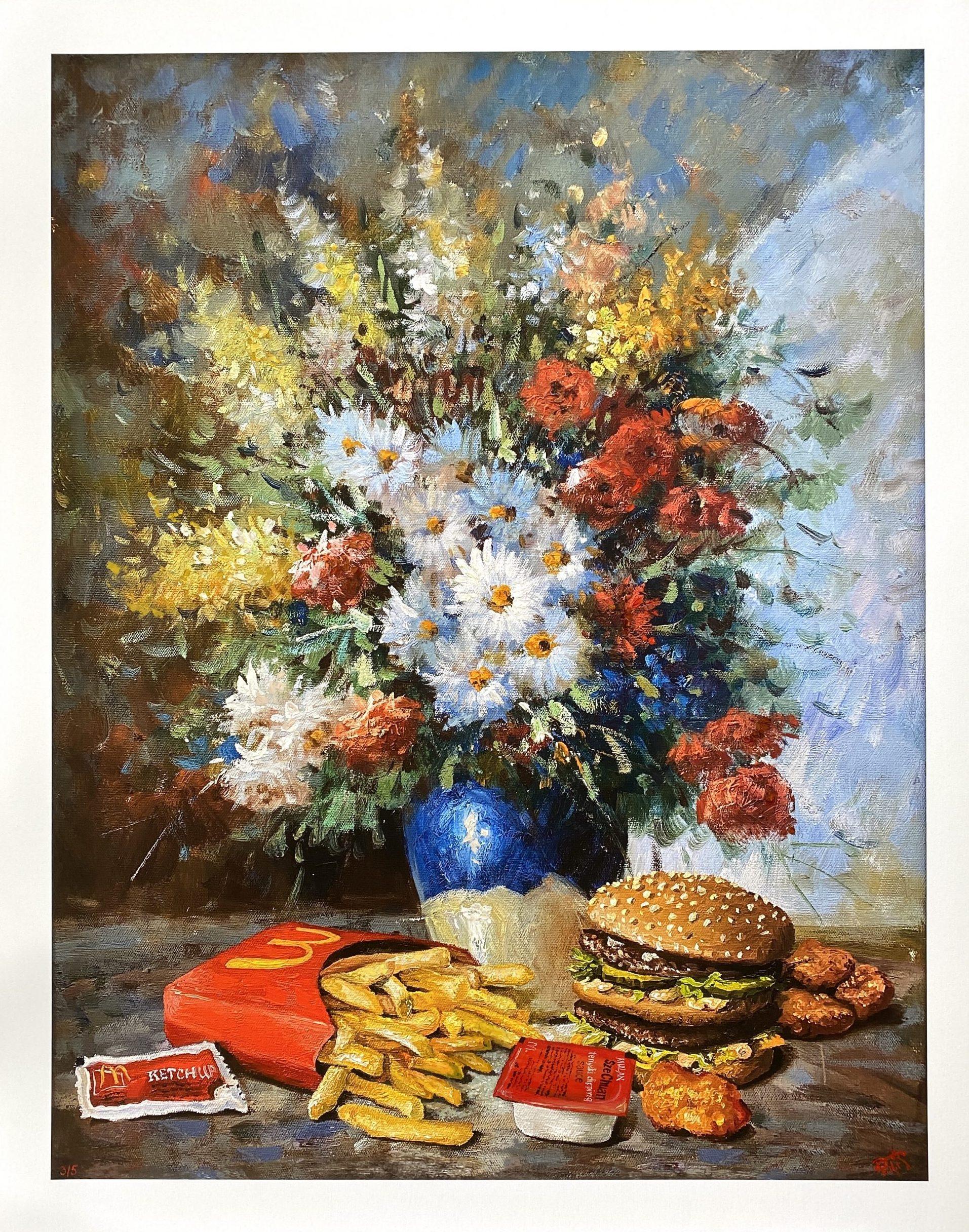 Calorie Composition 8 (SzeChuan Madness) by Dave Pollot