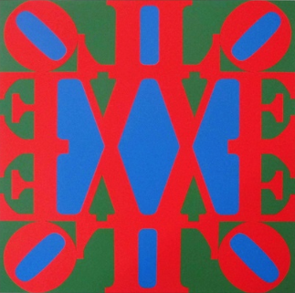 Great Love By Robert Indiana
