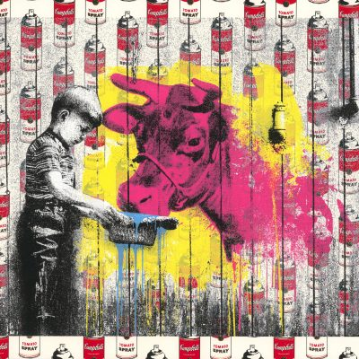 Soup Can Edition: You Get What You Give II by Mr. Brainwash