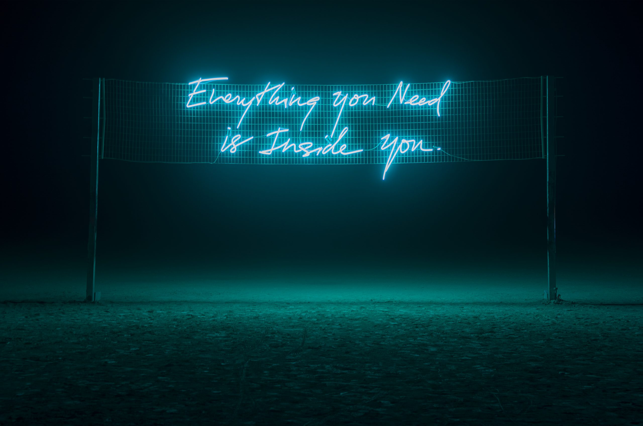 Everything You Need Is Inside Of You by Olivia Steele