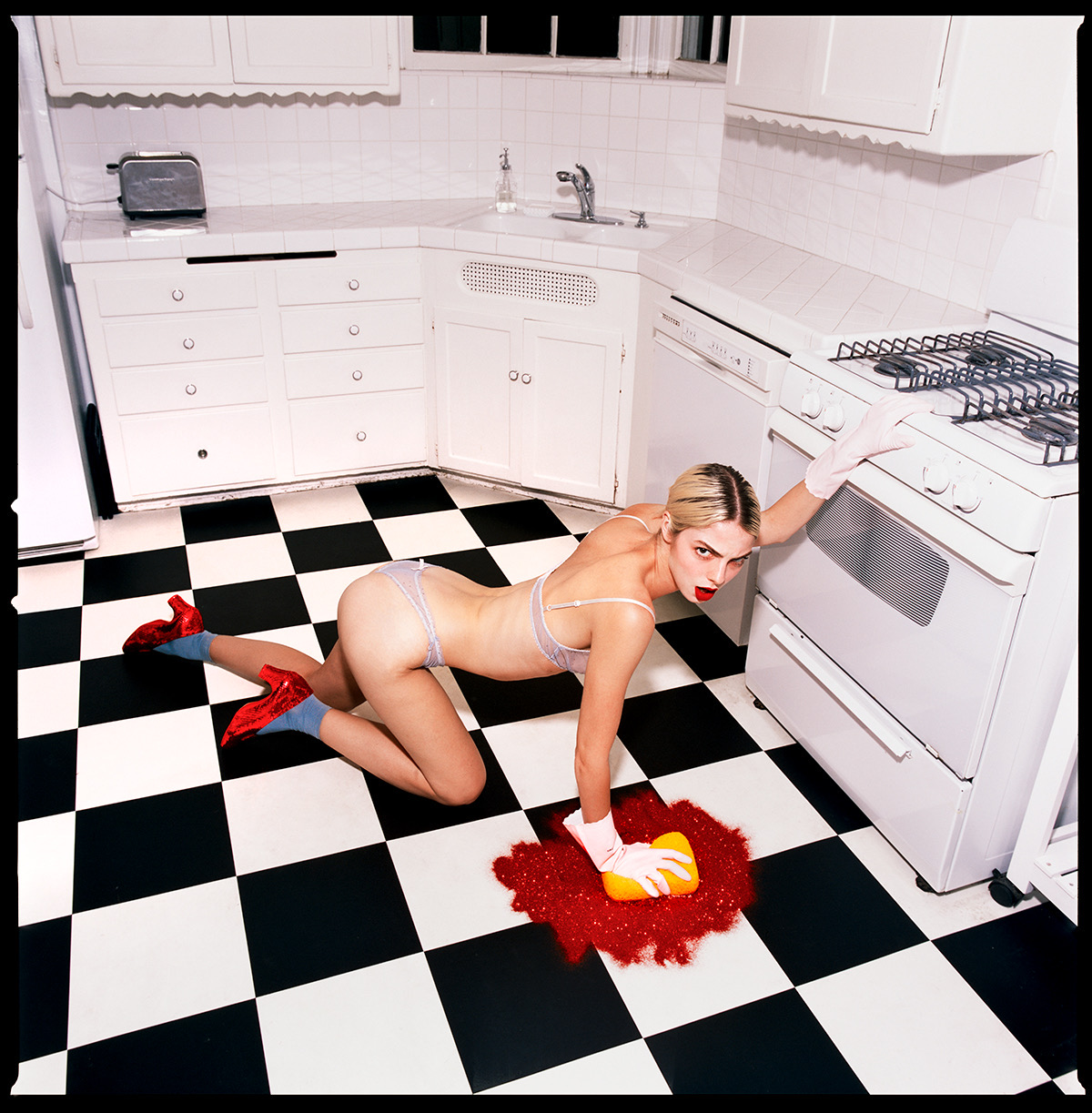 Dorothy in the Kitchen by Tyler Shields