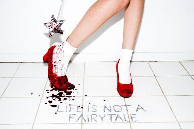 Life is Not a Fairy Tale by Tyler Shields