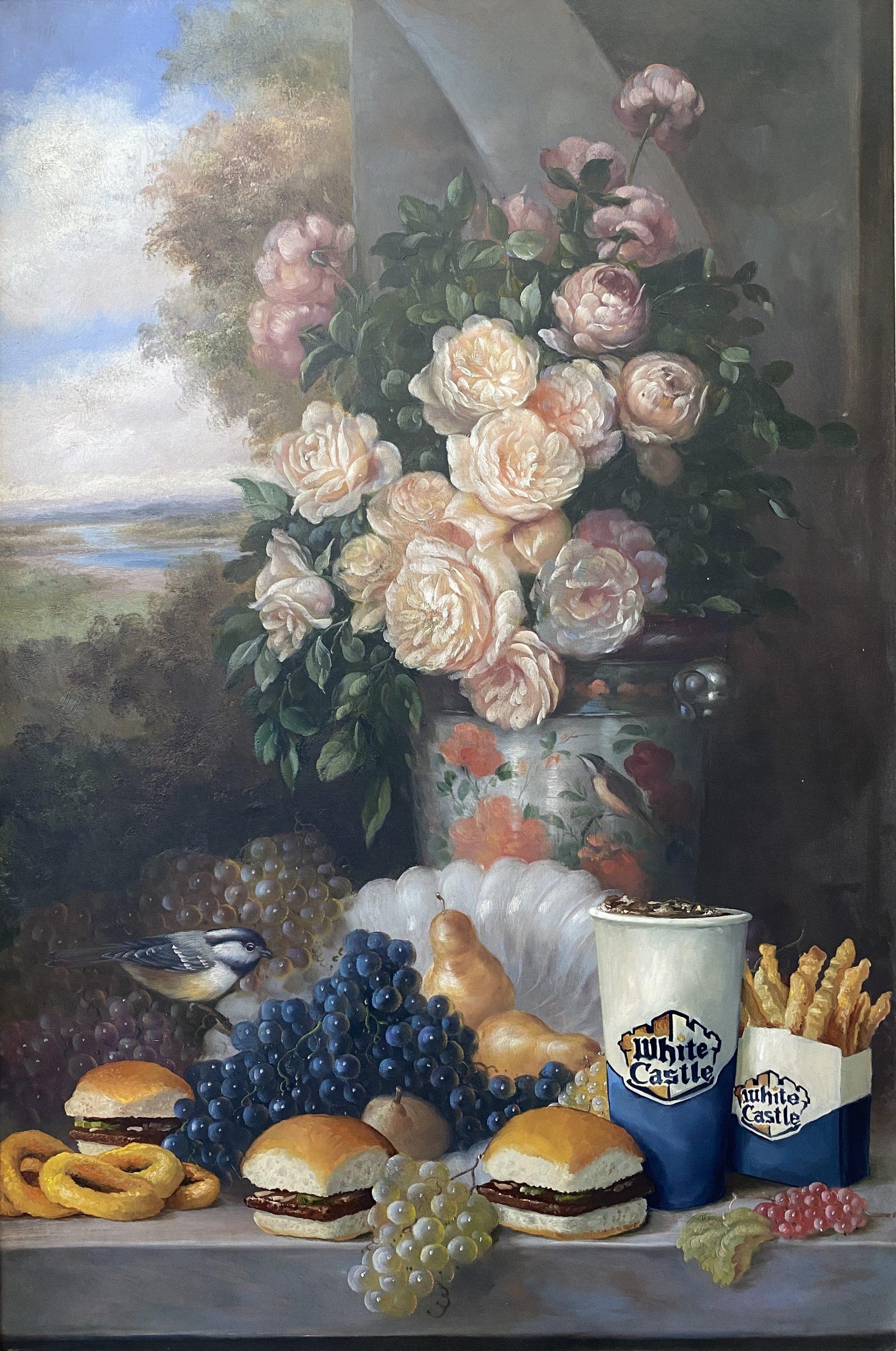 Calorie Composition 5 (White Castle) by Dave Pollot