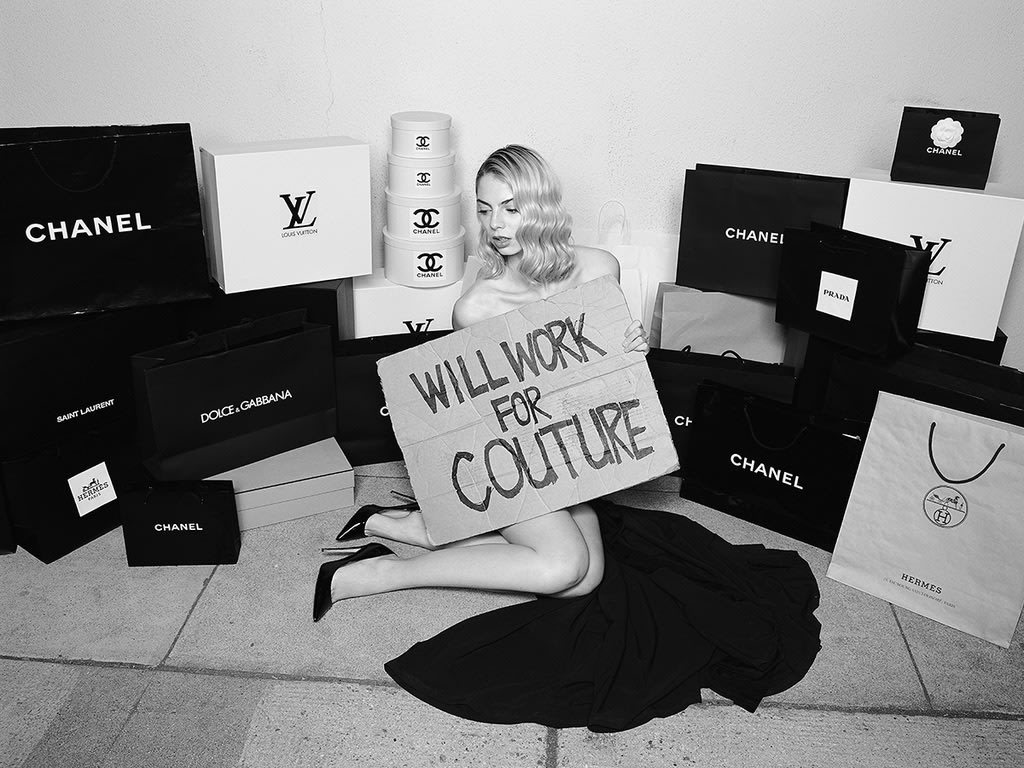 Will Work for Couture by Tyler Shields