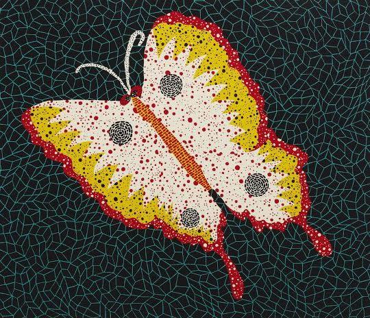 Butterfly, 1985 By Yayoi Kusama