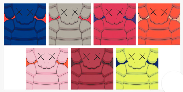 What Party (Set of 7) by KAWS