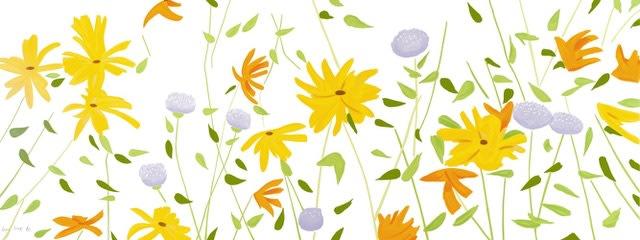 Summer Flowers by Alex Katz