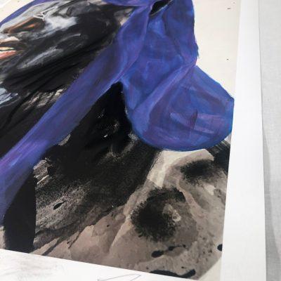 Rogue Waves (Purple) by Khari Turner