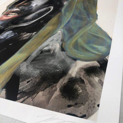 Rogue Waves (Gold) by Khari Turner
