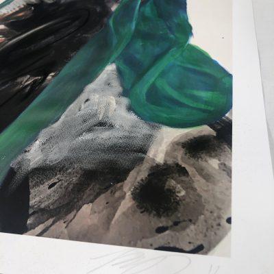 Rogue Waves (Teal) by Khari Turner