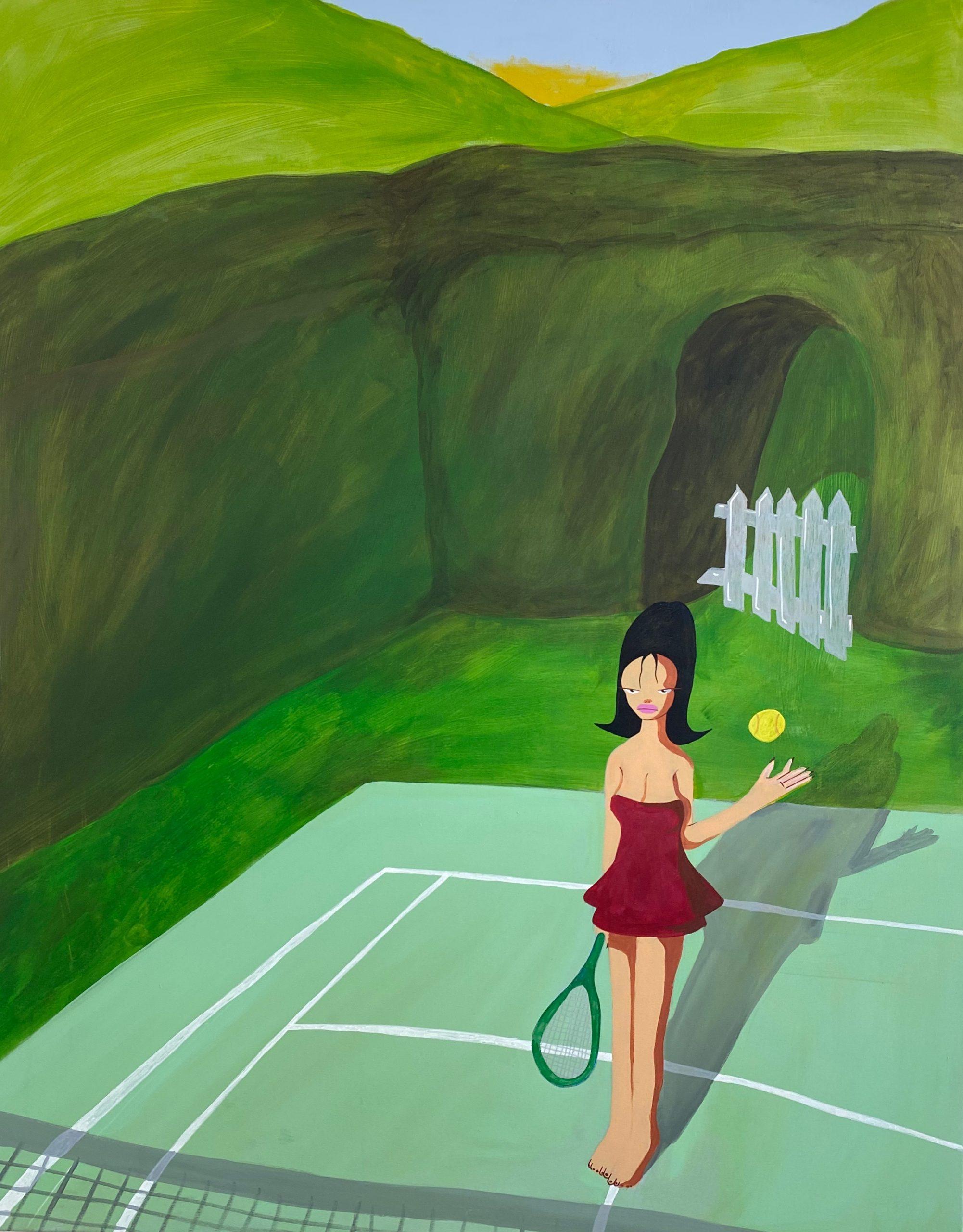 Tennis by Ben Evans