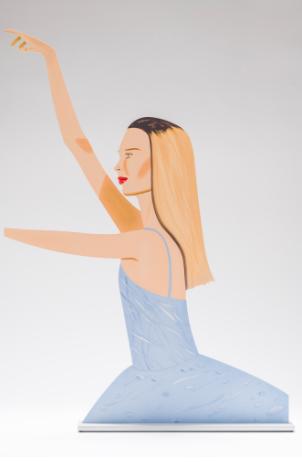 Dancer 2 Cutout by Alex Katz