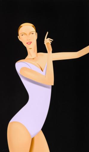 Dancer 1 by Alex Katz