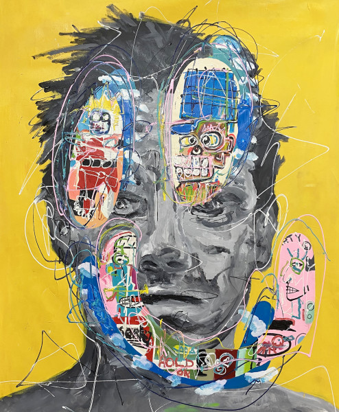 Portrait of the Soul (Yellow) by John Paul Fauves
