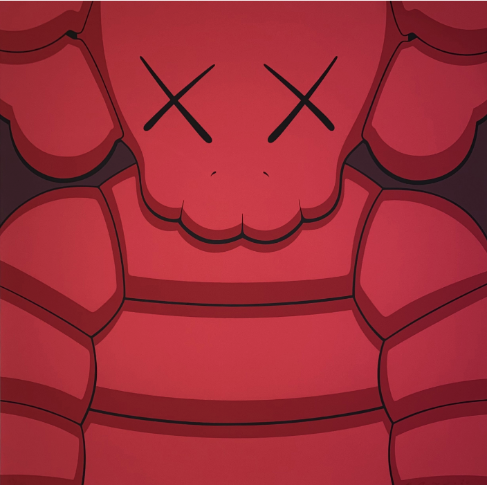 What Party (Red) by KAWS