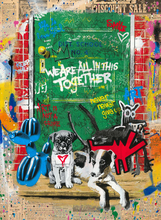 Artists' Best Friend (Discount Sale) by Mr Brainwash