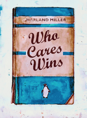 Who Cares Wins (Blue) by Harland Miller