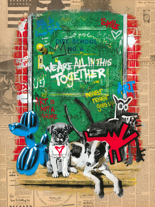 Artists' Best Friend (Americana) by Mr Brainwash