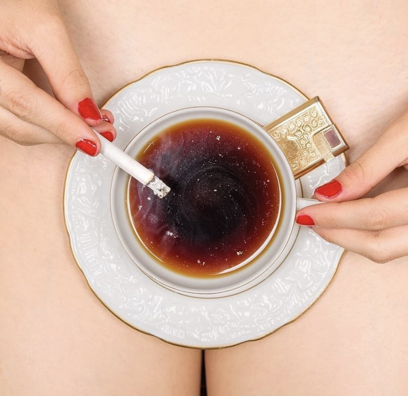 Coffee and Cigarettes by Tyler Shields