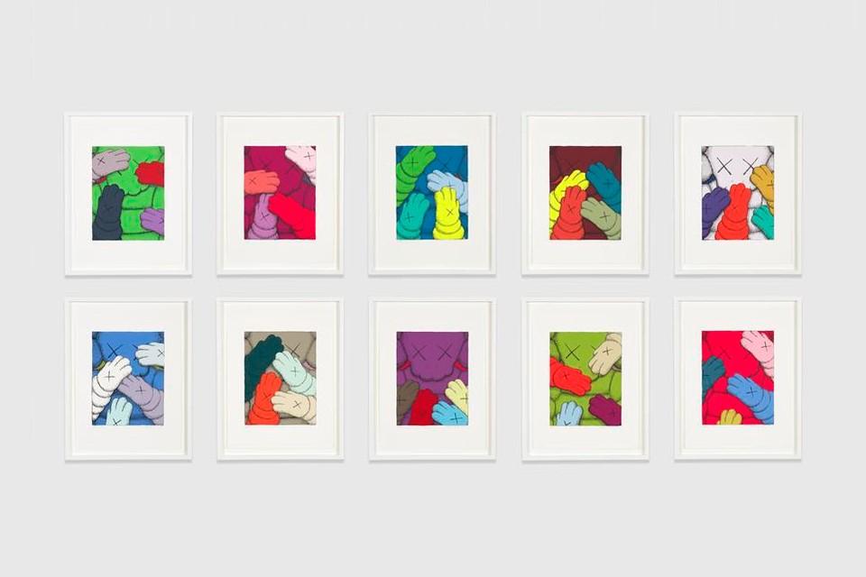 URGE (Portfolio Set of 10 Prints) by KAWS