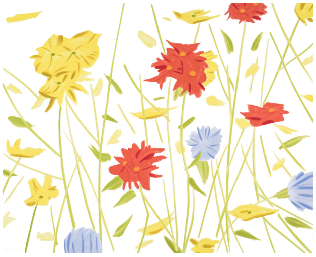 Wild Flowers by Alex Katz