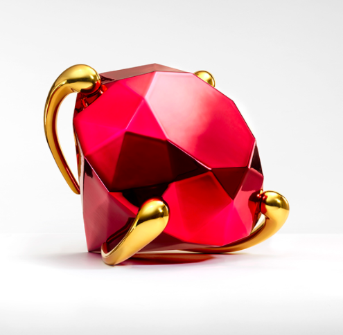 Diamond (Red) by Jeff Koons