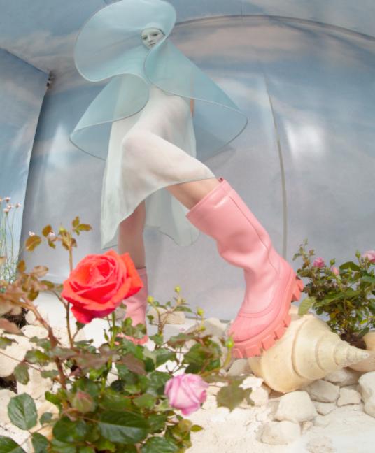 Grace Sharp, Fashion: Prada, London by Tim Walker