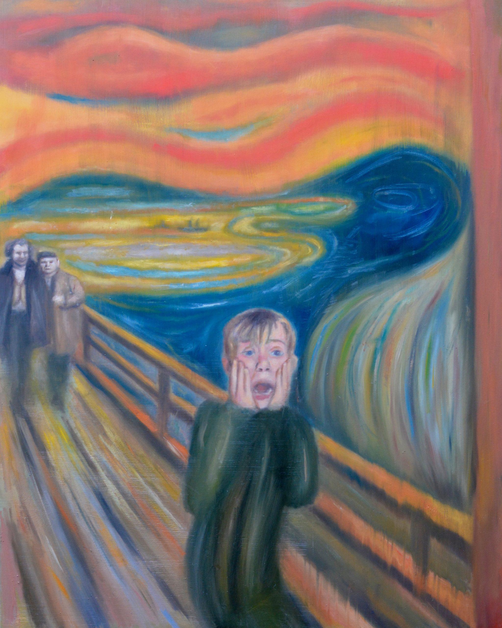 Scream Alone by Tim Gatenby