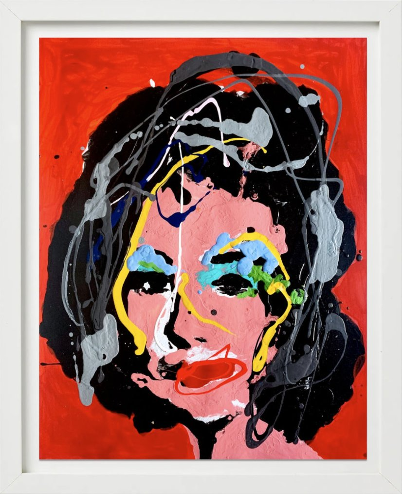The Girl Who Had Everything (Red) by John Paul Fauves