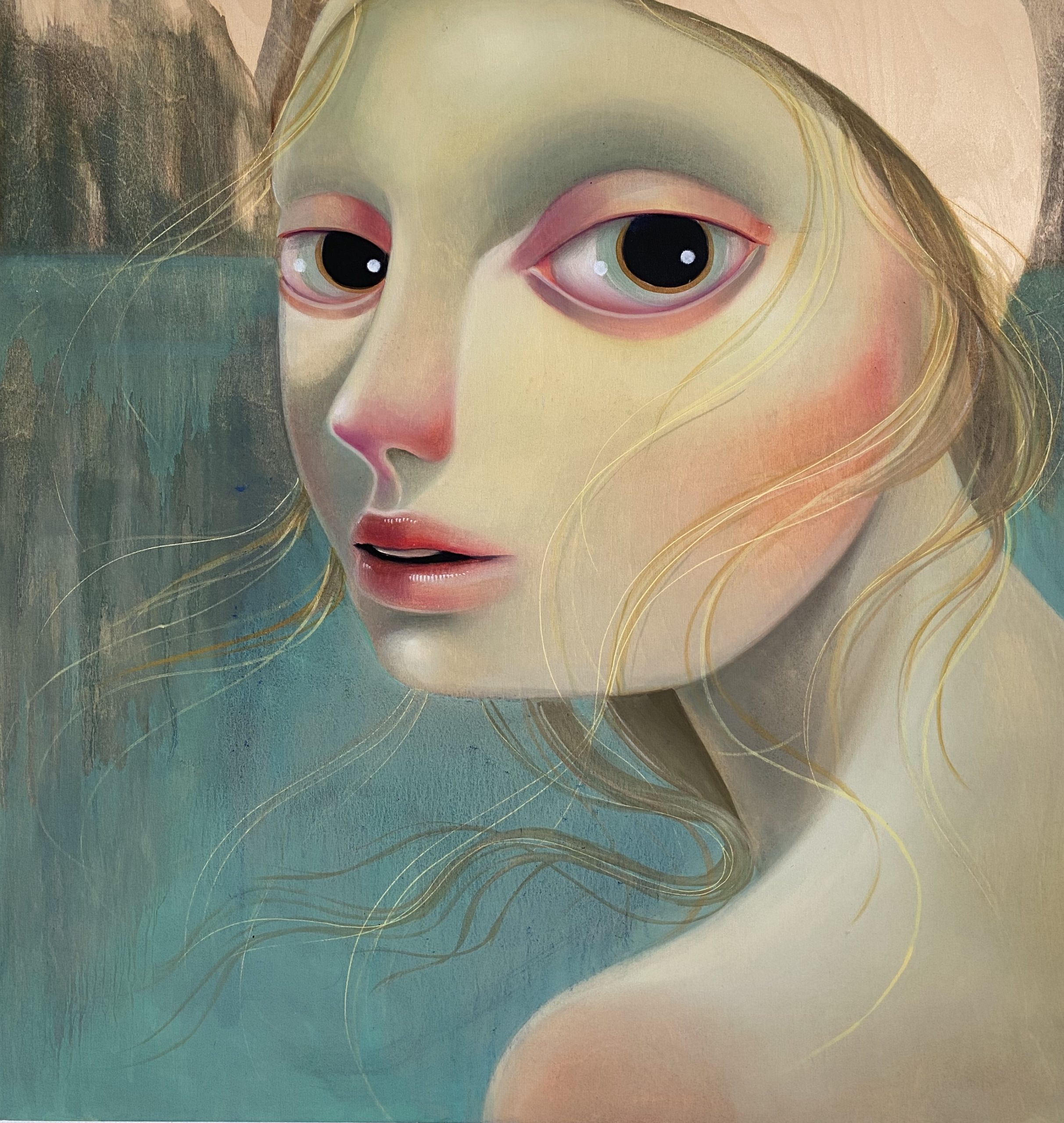 There In The Deep She Could Not Be Reached by Tania Marmolejo