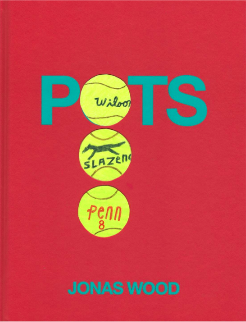Pots Collage Book by Jonas Wood