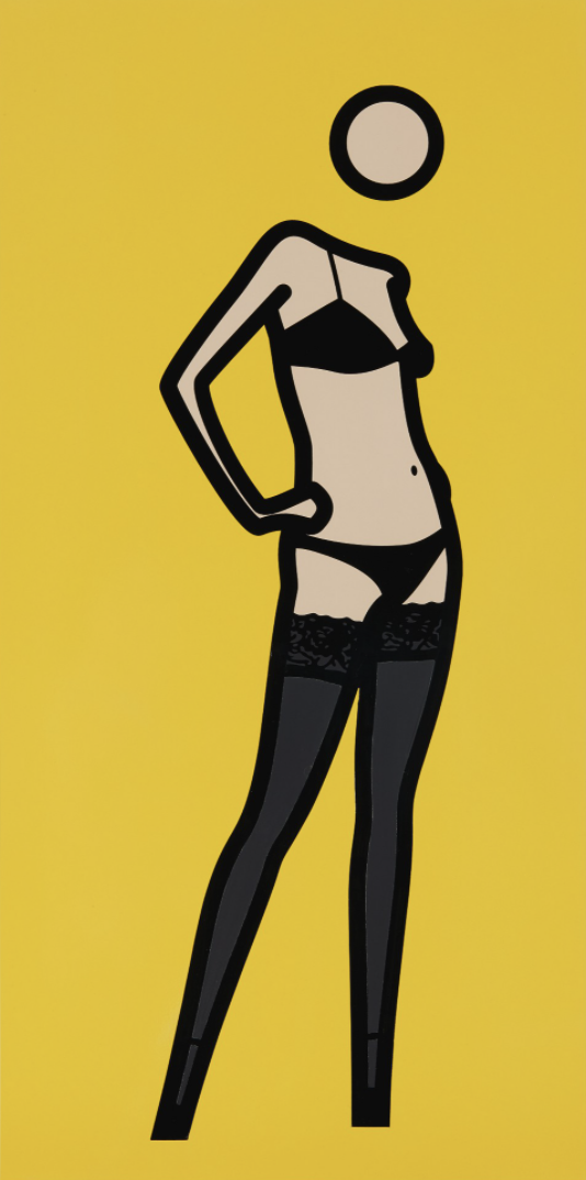 This is Keira 03 by Julian Opie