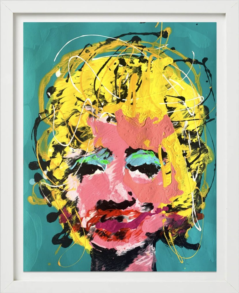 Some Like It Hot (Teal) by John Paul Fauves