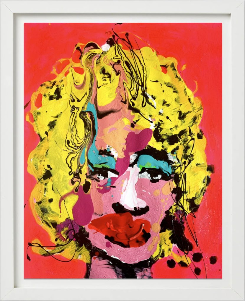 Some Like It Hot (Fluorescent) by John Paul Fauves
