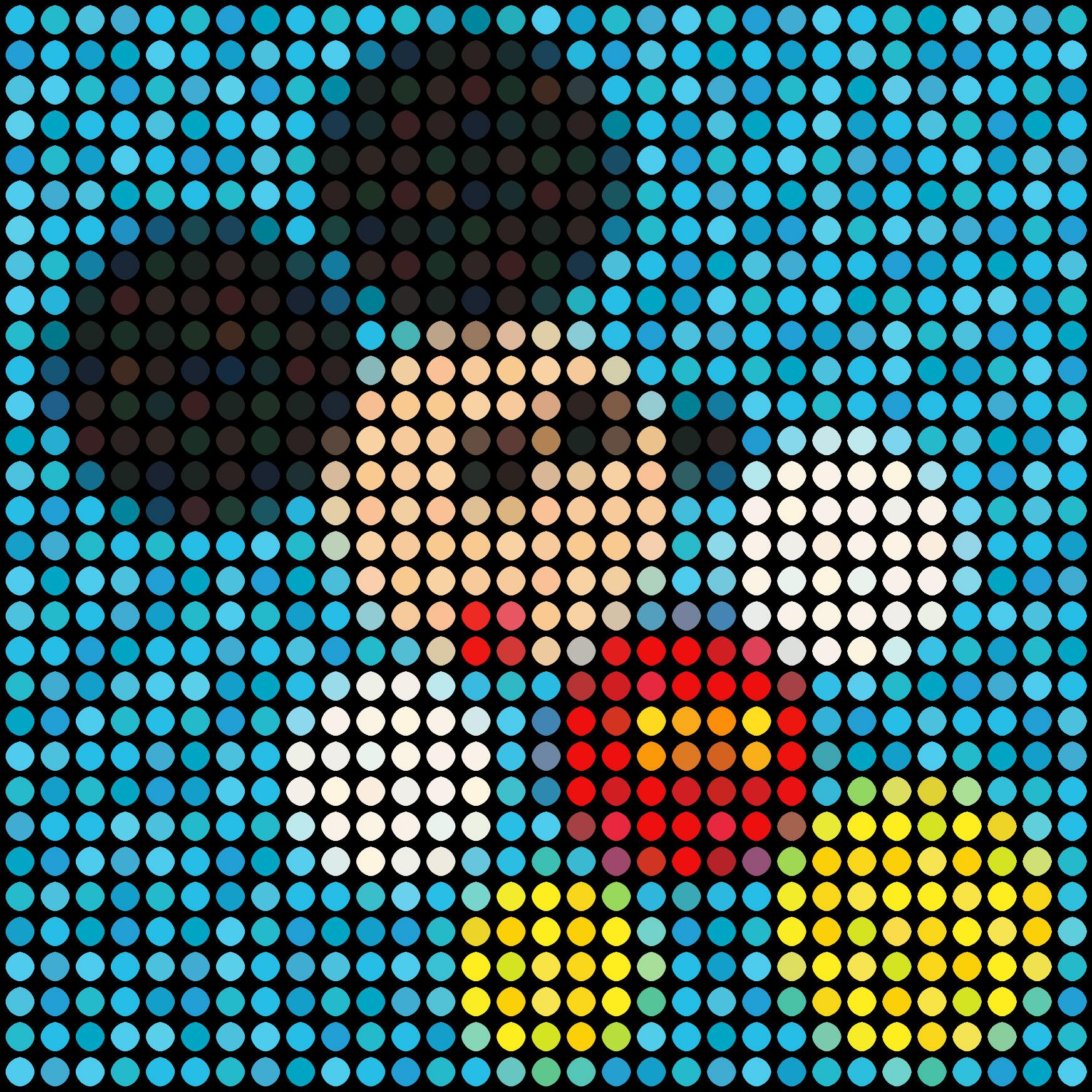 Mickey (Blue) No 3 by Dimitri Likissas