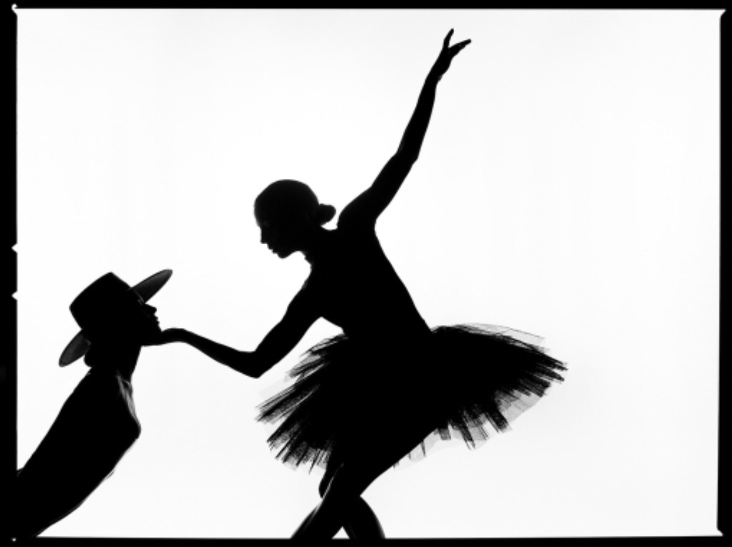 Touch SIlhouette by Tyler Shields