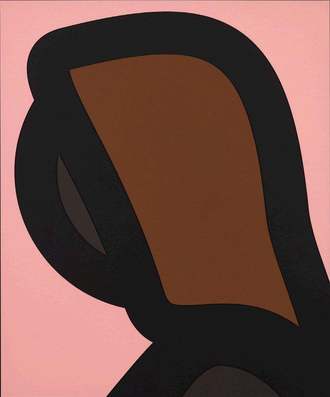 Paper Head 1 by Julian Opie