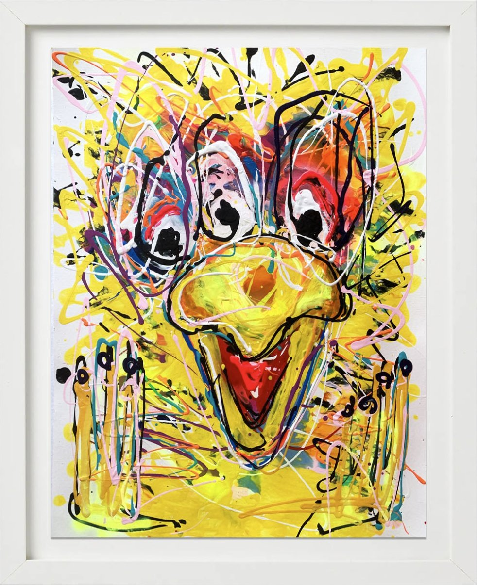 Follow That Bird No. 2 by John Paul Fauves
