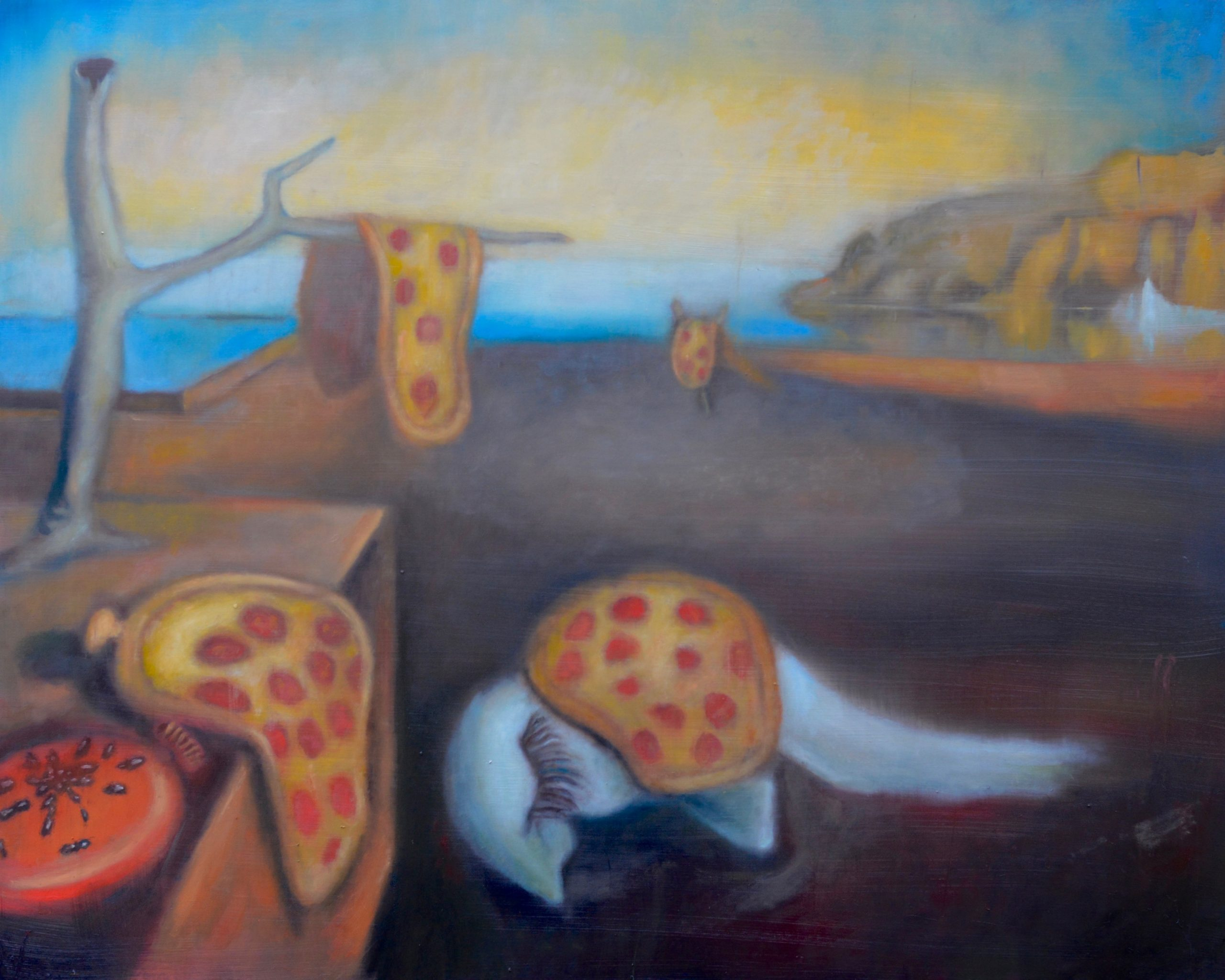 The Persistence of Pizza by Tim Gatenby