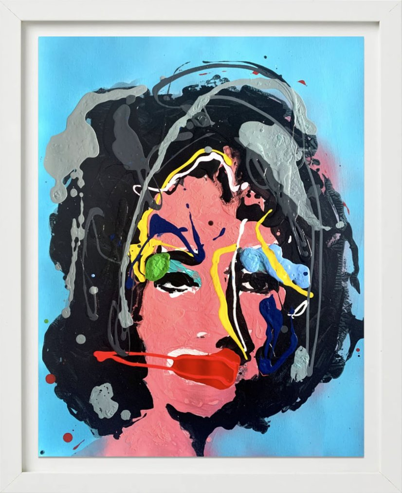 The Girl Who Had Everything (Blue) by John Paul Fauves