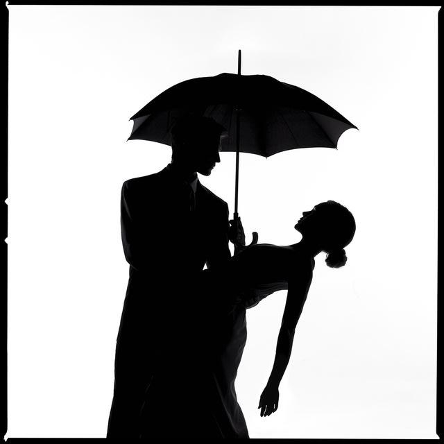 Umbrella Silhouette II by Tyler Shields