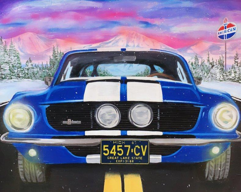 Ghostride (67 Shelby) by Jojo Anavim