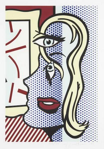 Art Critic (C. 305) by Roy Lichtenstein