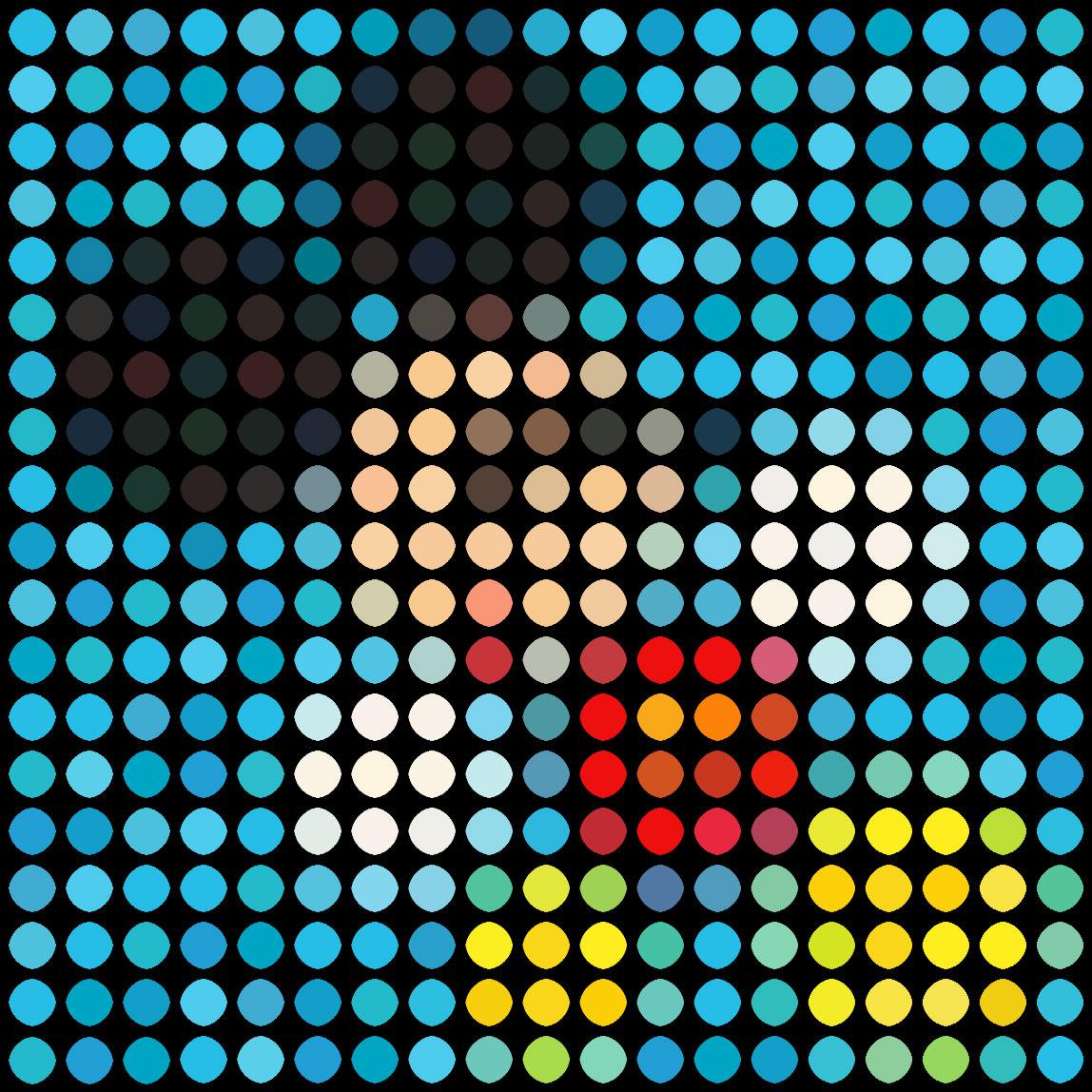 Mickey (Blue) No. 1 by Dimitri Likissas