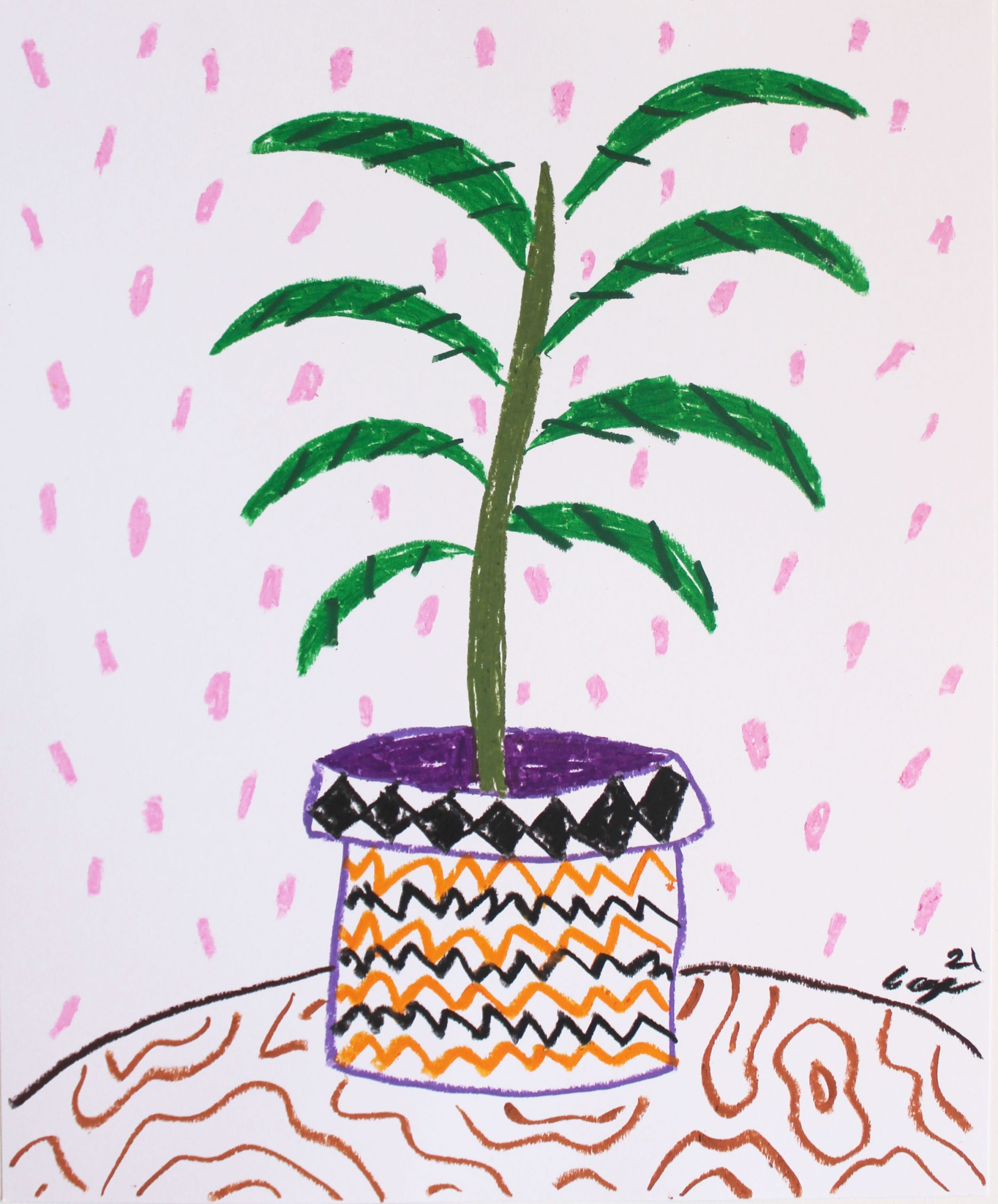 Plant On My Desk No 6 by Cooper